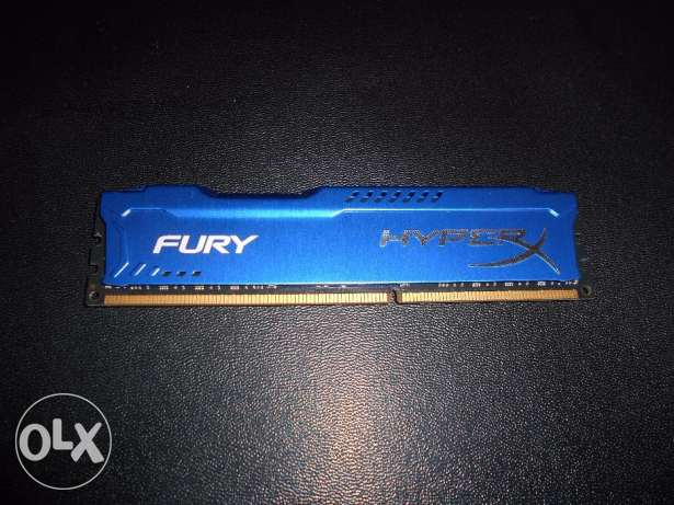 Kingston HyperX FURY Blue 16GB (8GB X 2 ) DDR3 1866MHz CL10 1.5v