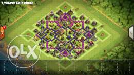 Clash of clans TowenHall lv8