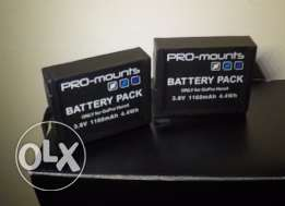 Gopro hero4 battery with charger
