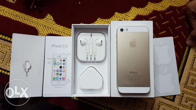 Iphone 5s gold very good