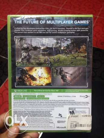 TitansFall For Xbox 360 New Haven't been Used القاهرة الجديدة -  2