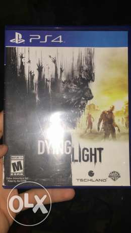 Dying light new with codes unused good condition for sail or trade الهرم -  1