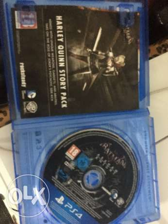 ps4 500 gb white + batman arkham knight الزقازيق -  6