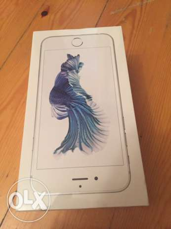 Mobile iPhone 6S Silver 32 gigabytes sealed