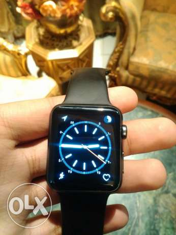 Apple watch 42mm المعادي -  5