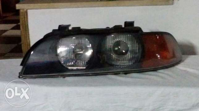 E39 orignal head light lantern Xenon without scratches Bosh lensis وسط القاهرة -  3