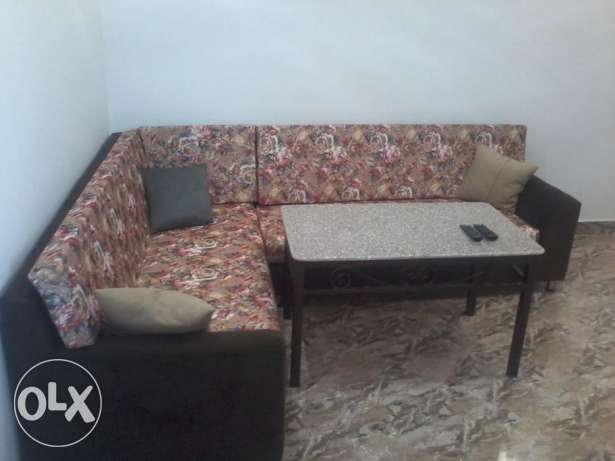 Furnished two bedroom apartment for rent in El Hadaba with sea view