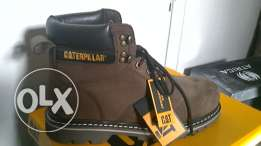 safety cat made in usa size 44 .45 coler blacke . browen