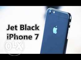 iphone 7 jet black for sale new 128g