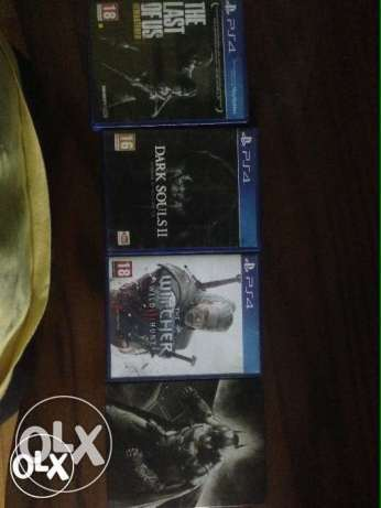 4 ps4 games package
