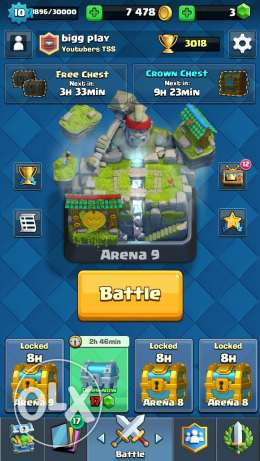 Clash royal 6 أكتوبر -  6