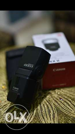 Flash canon 430 v2