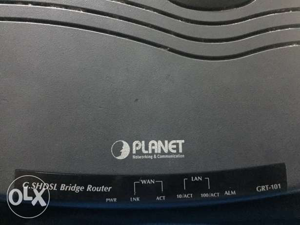 Planet G.SHDSL Bridge Router : GRT-101