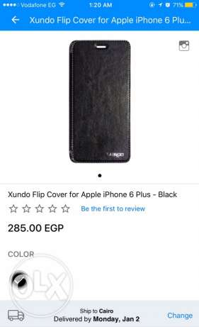 xundo flip cover for iphone 6plus-black