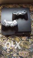 ps3 with 2 hands , 2 games
