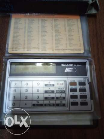 Electronic calculator SHARP EL-8245