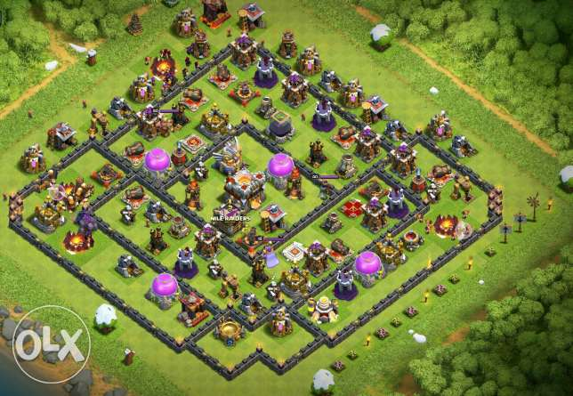 Town hall 11 max تاون هول 11 ماكس clash of clans