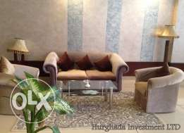 Apartment 110m with swimming pool in Samra Bay for rent