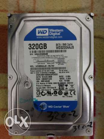 Hard disk 320 Giga used for PC