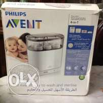 PHILIPS Avent sterilizer 4 in 1 excellent as new in box & guarantee