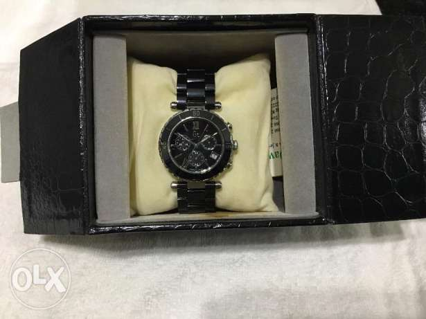 Guess collection black watch مدينة الشروق -  2