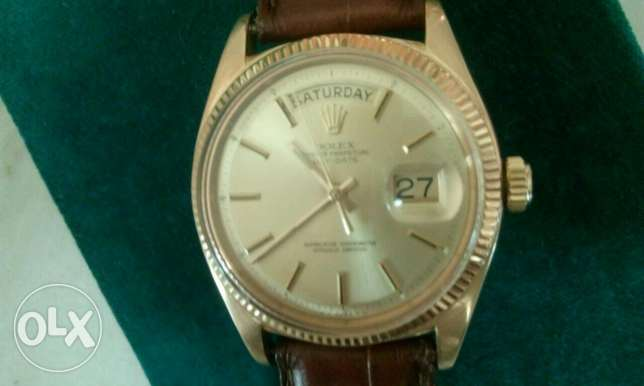 Rolex day date 1958 yellow Gold