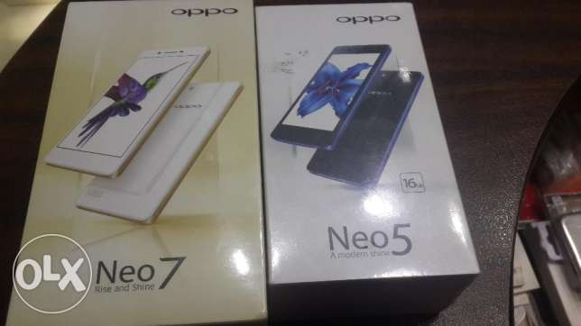 OPPO Neo 7 And Neo 5