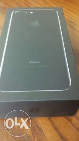 IPHONE 7 PLUS 128 GB jet black colour, new one, NOT ACTIVATED مدينة نصر -  1