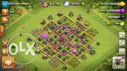 clash of clans town 8