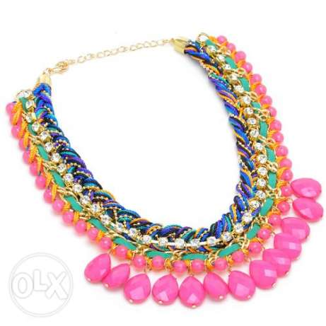 Colorful necklace مصر الجديدة -  1