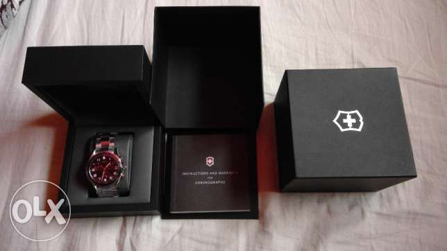 Victorinox Swiss Army Watch New In Box Model number V241544