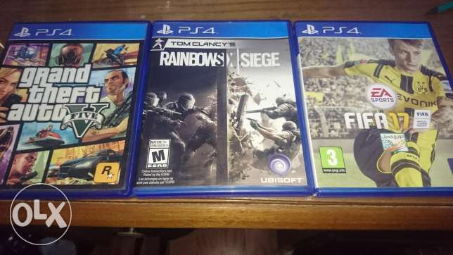 Ps4 Games... Used as new