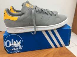 Adidas Originals - Stan Smith Shoes Grey/Yellow - mint condition