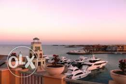 2 bedroom apartment with beautiful roof terraces in El Gouna for rent