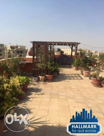 Furnished Studio Roof For Rent In Diplomats Compound New Cairo