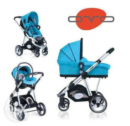 Brevi 3 in 1 travel system from germany بأقل من نصف تمنها
