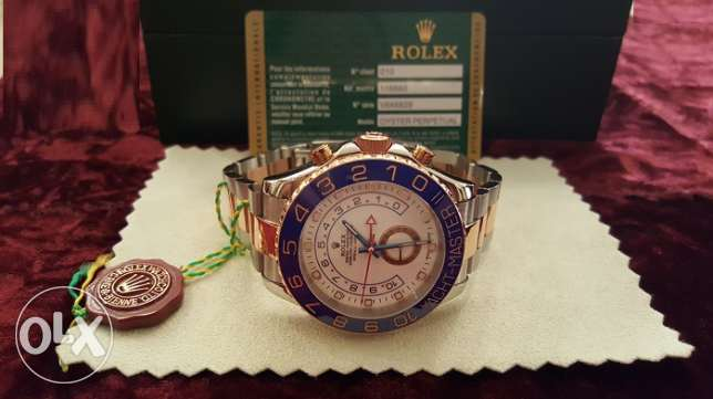 The Only Rolex-Yacht-M2 rose gold with Int. national Guarantee القاهرة -  1