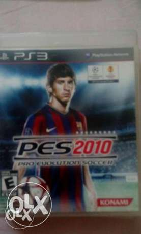 ps3 game pes 2010