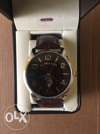 Original Uspolo Assn Watches for 800 LE with leather box