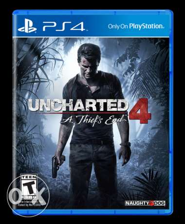 Uncharted 4 English Region 2 Ps4 الإسكندرية -  1