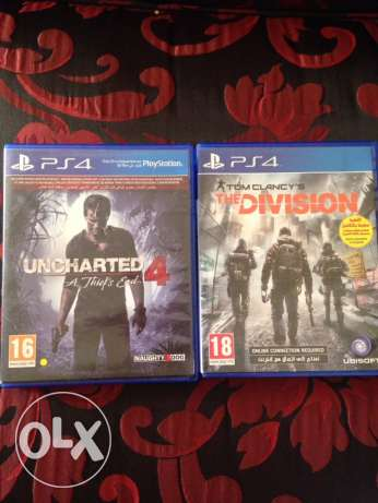 Uncharted4 + The Division