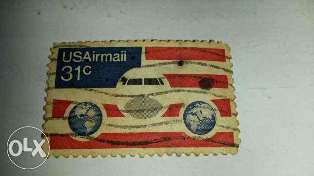 Usairmail stamp 31cent