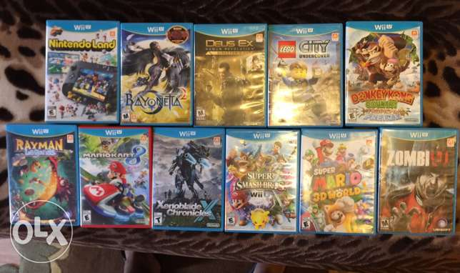 Wii U Games American for sale!