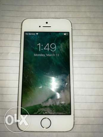 IPhone 5s 32G gold (للبيع فقط)