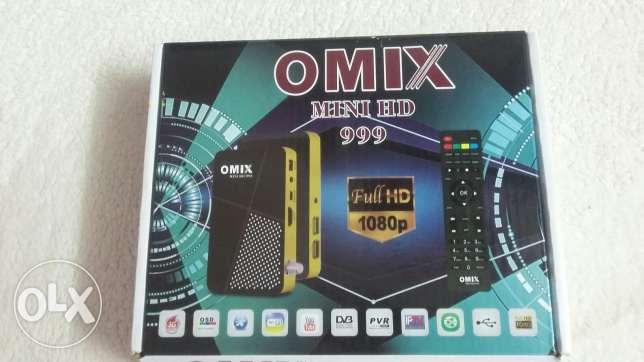 ريسفير omix mini HD 999 المعروف