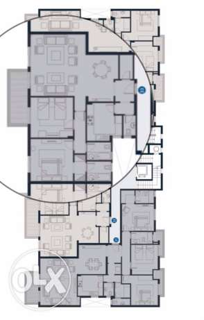 Courtyards Hot deal Apartment 175 m with roof الشيخ زايد -  3