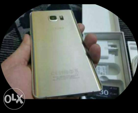Note 5 for sale or trade (gold) 32gb مصر الجديدة -  1