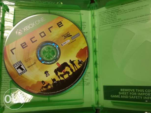 Recore Xbox one used like new