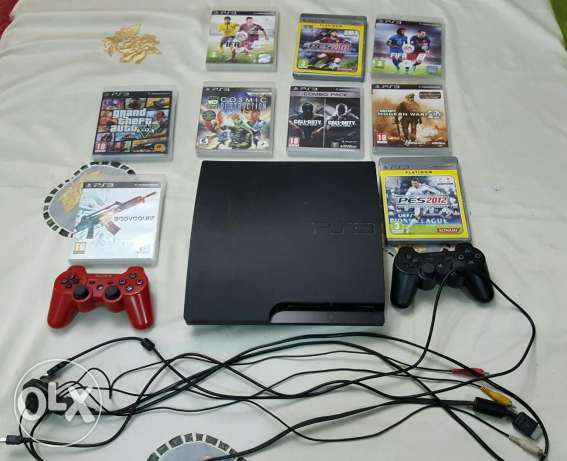 ps3 and games ps3 المعادي -  1