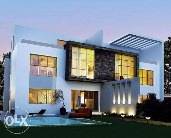Twin House in life Park EL-Sheik Zayed